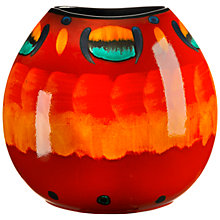 Buy Poole Pottery Volcano Purse Vase, H26cm Online at johnlewis.com