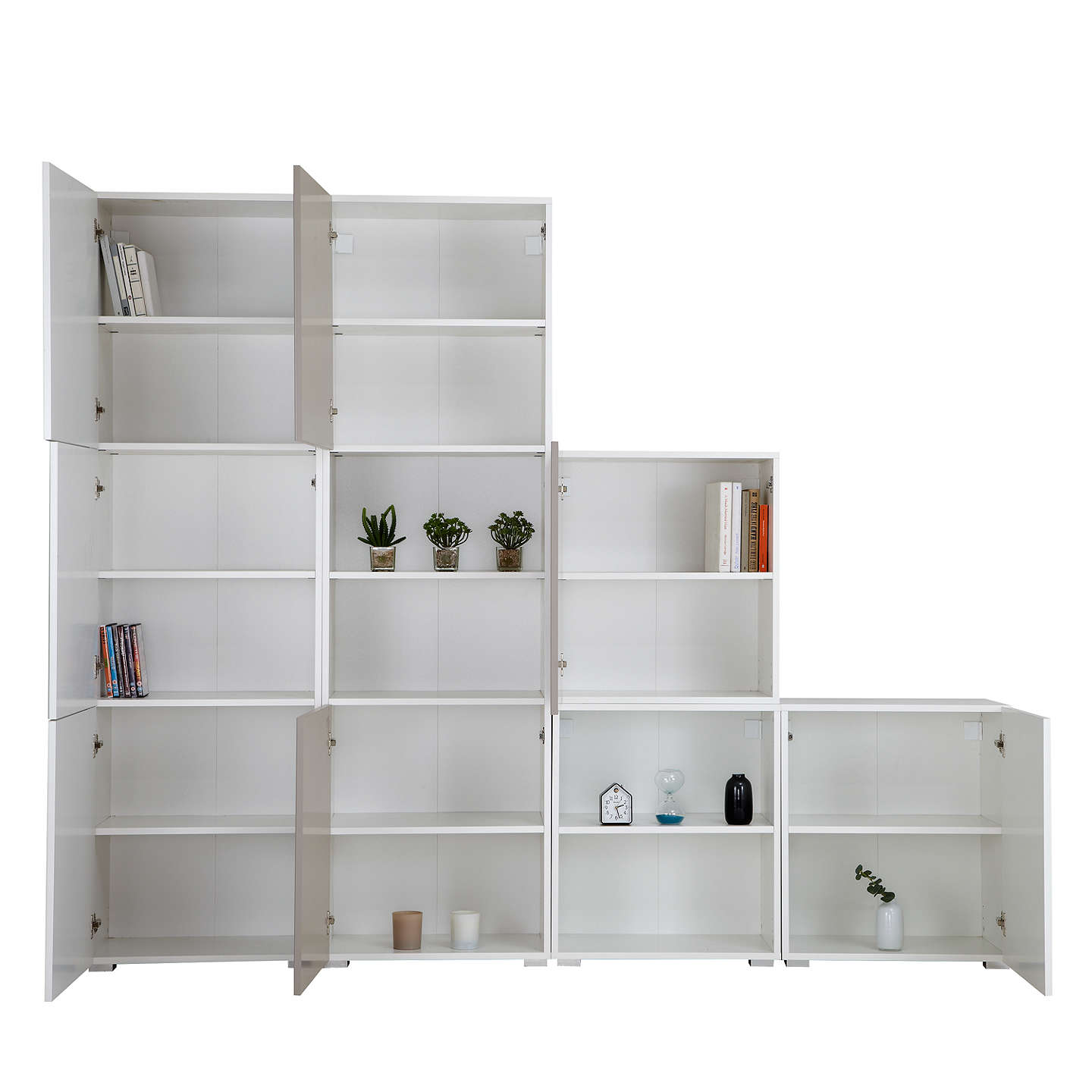 with tall marble larder shelf cupboard pr unit shelves