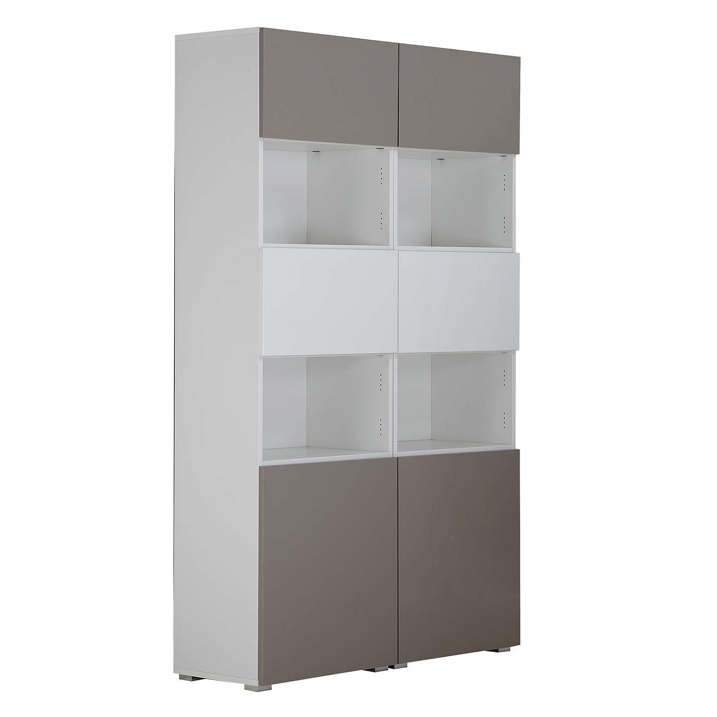 shelving unit with doors house by lewis mix it 6 door shelf unit 26051