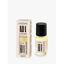 Buy Esteban Cedre Refresher Oil, 15ml Online at johnlewis.com
