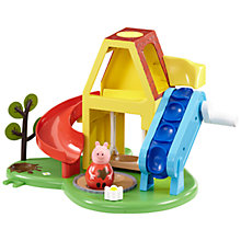 Buy Peppa Pig Weebles Wobbily Playhouse Online at johnlewis.com