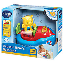 Buy VTech Baby Captain Bear's Bathtime Online at johnlewis.com
