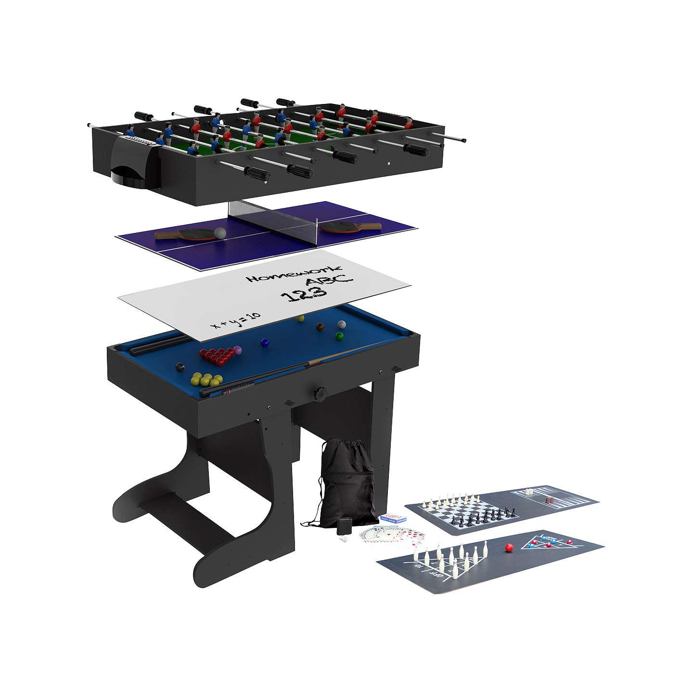 bce riley 12 in 1 folding multi games table at john lewis. Black Bedroom Furniture Sets. Home Design Ideas
