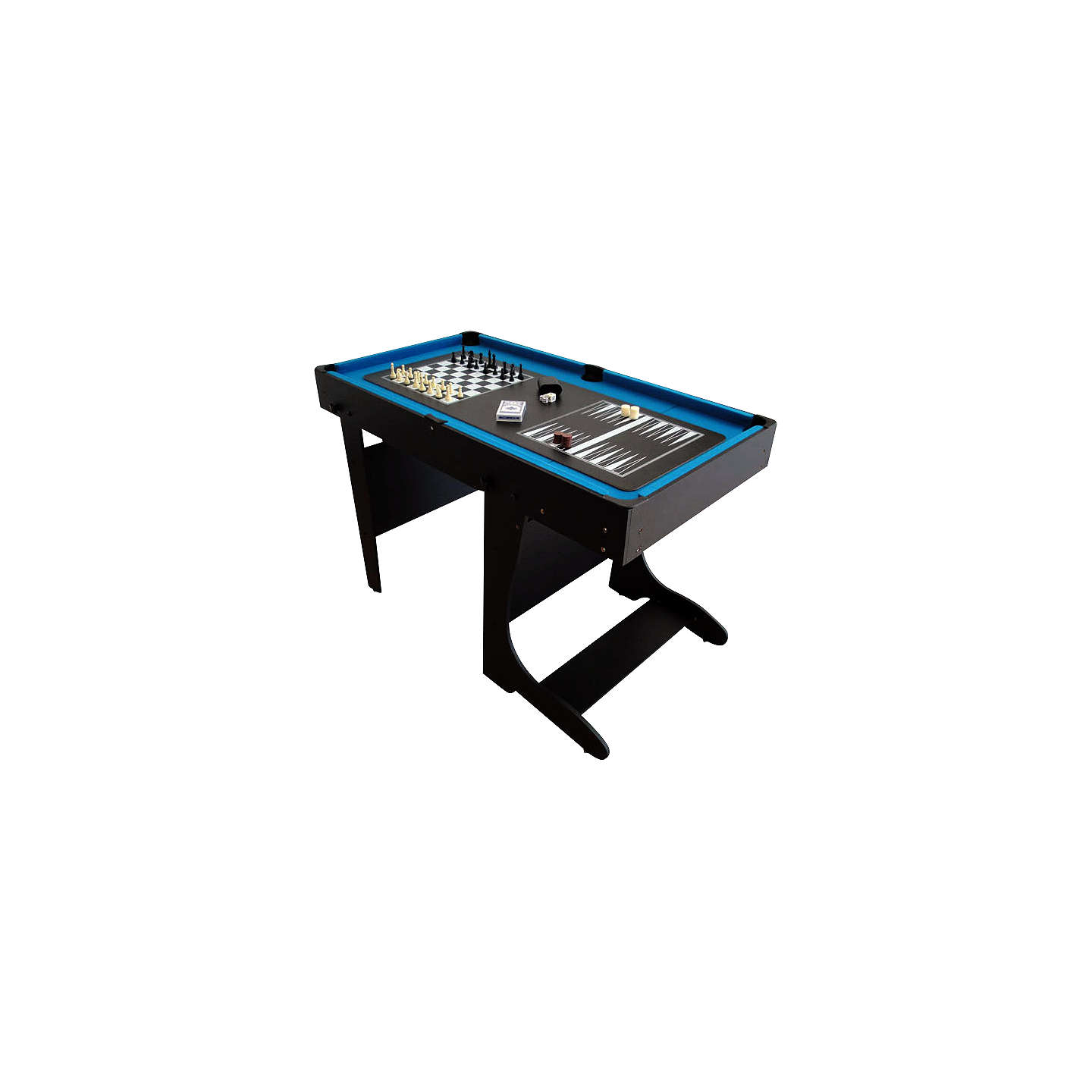 Bce riley 12 in 1 folding multi games table at john lewis for 12 in one multi game table