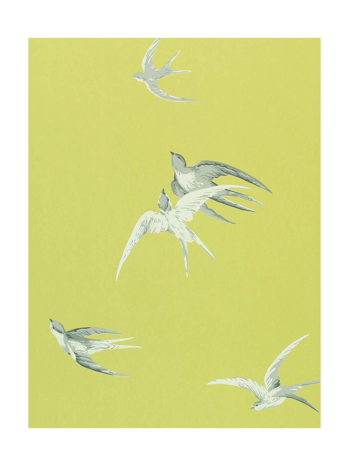 Sanderson swallows wallpaper at john lewis partners - Sanderson swallows wallpaper pebble ...