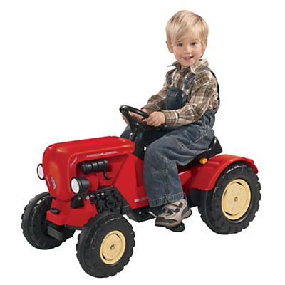 BIG Porsche Diesel Junior Ride On Tractor