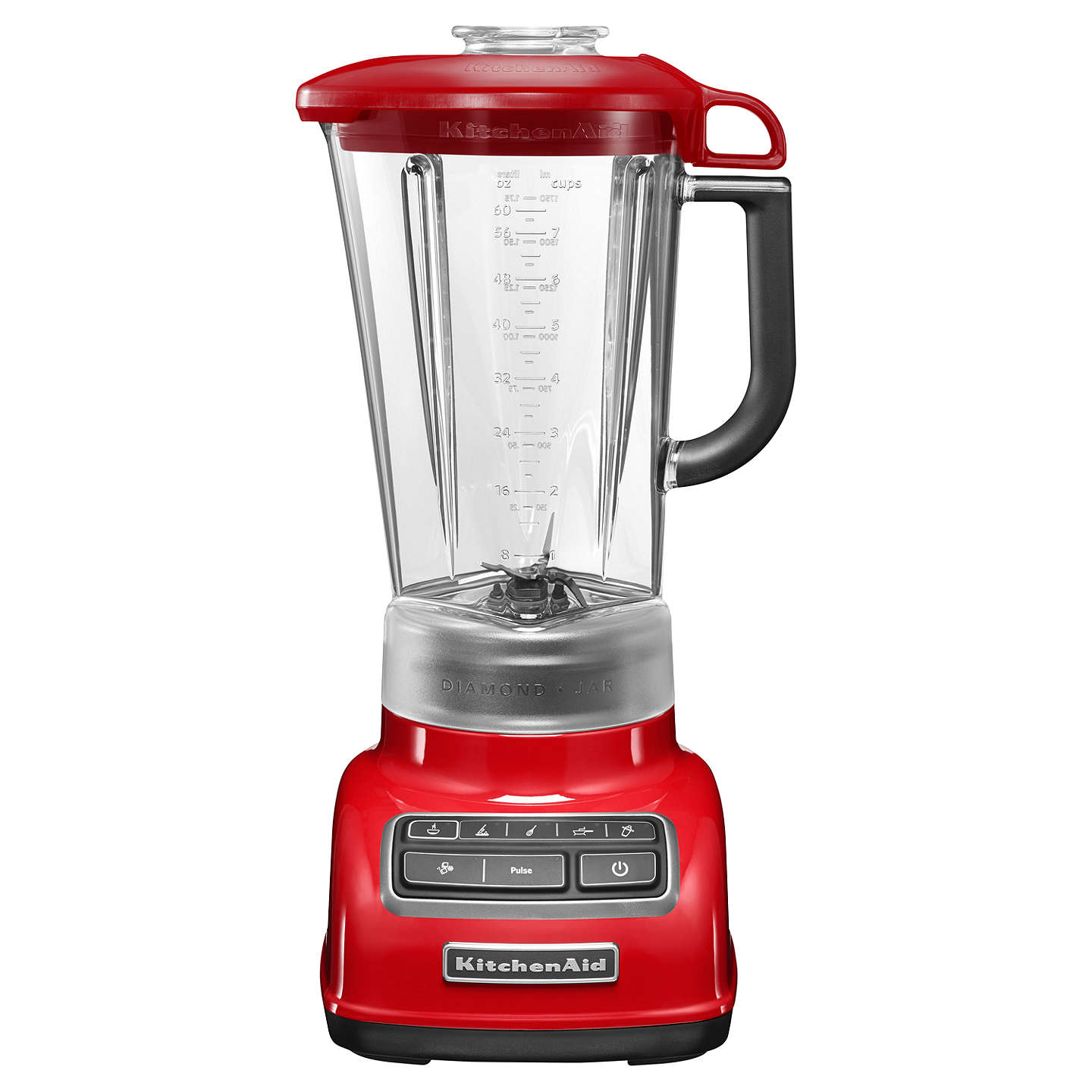 Kitchenaid Diamond Blender Empire Red At Johnlewis Com
