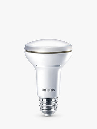 Buy Phillips 6W Energy Saving ES R63 LED Reflector Dimmable Bulb, Clear Online at johnlewis.com