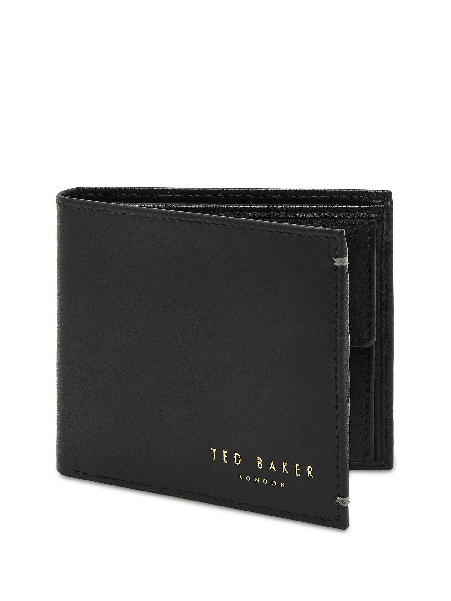 ef1d4e2d52ec5c Ted Baker Anthonys Leather Bifold Wallet at John Lewis   Partners