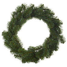 Buy John Lewis Snow Tip Pine Wreath Online at johnlewis.com