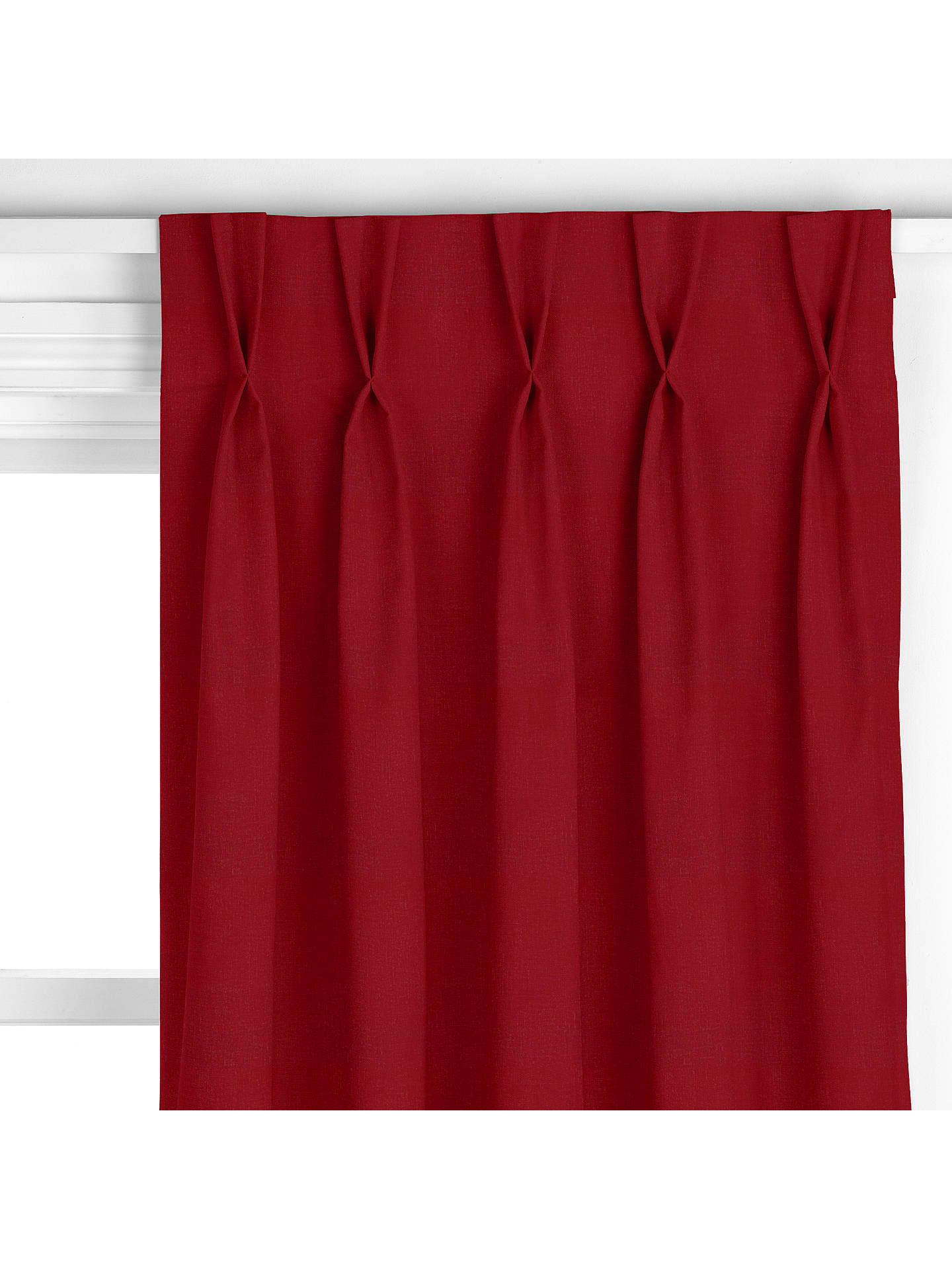 BuyJohn Lewis & Partners Luna Curtain, Claret Online at johnlewis.com