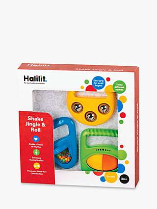 Halilit Shake, Jingle & Roll Musical Set