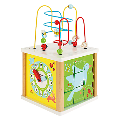 John Lewis Large Activity Cube Toy