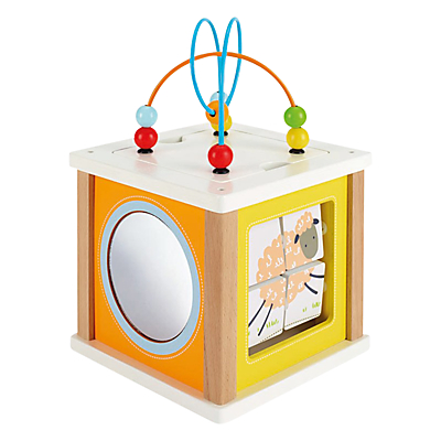 John Lewis Small Activity Cube