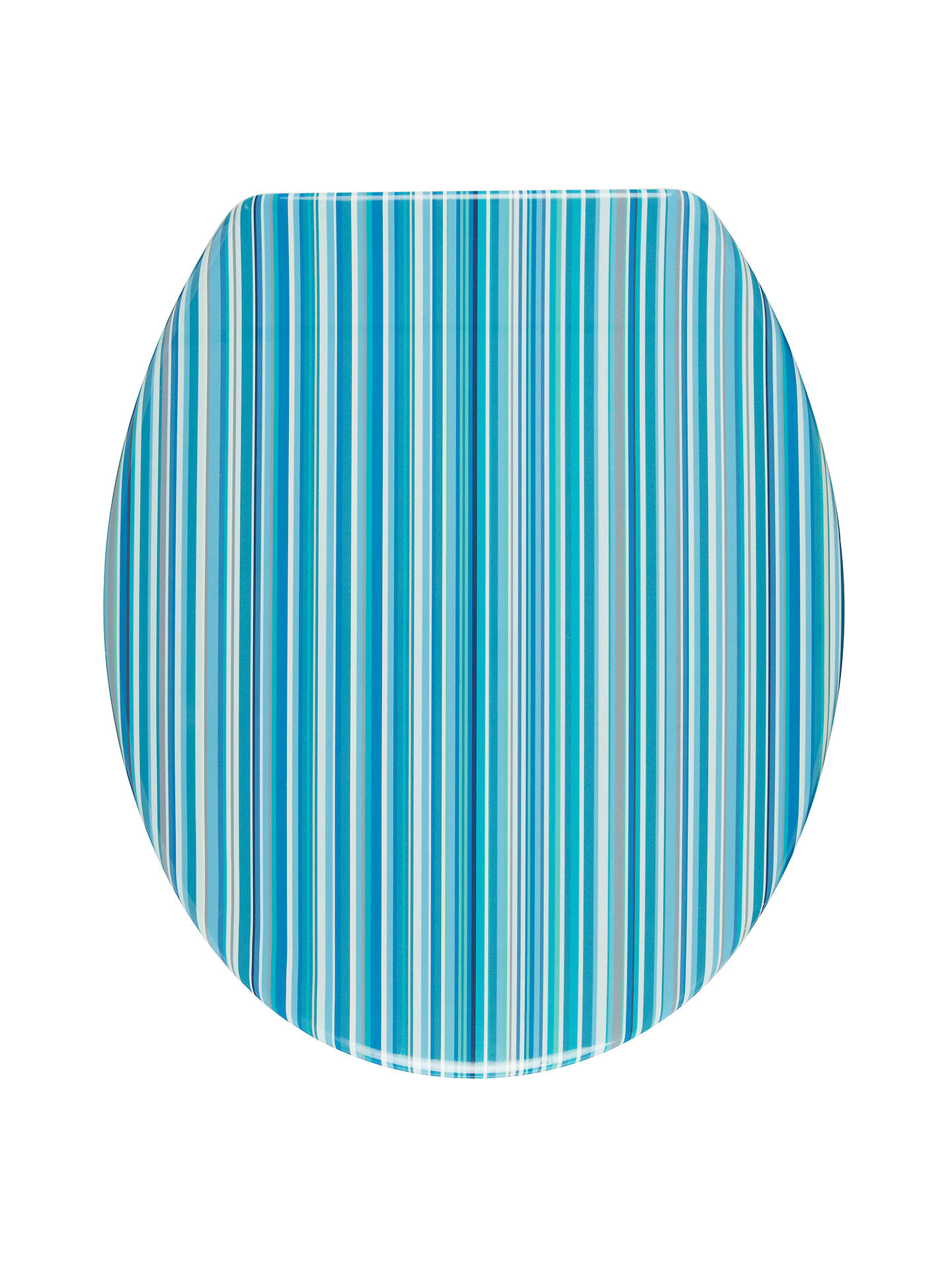 Wondrous John Lewis Stardust Toilet Seat Blue Stripe At John Lewis Gamerscity Chair Design For Home Gamerscityorg