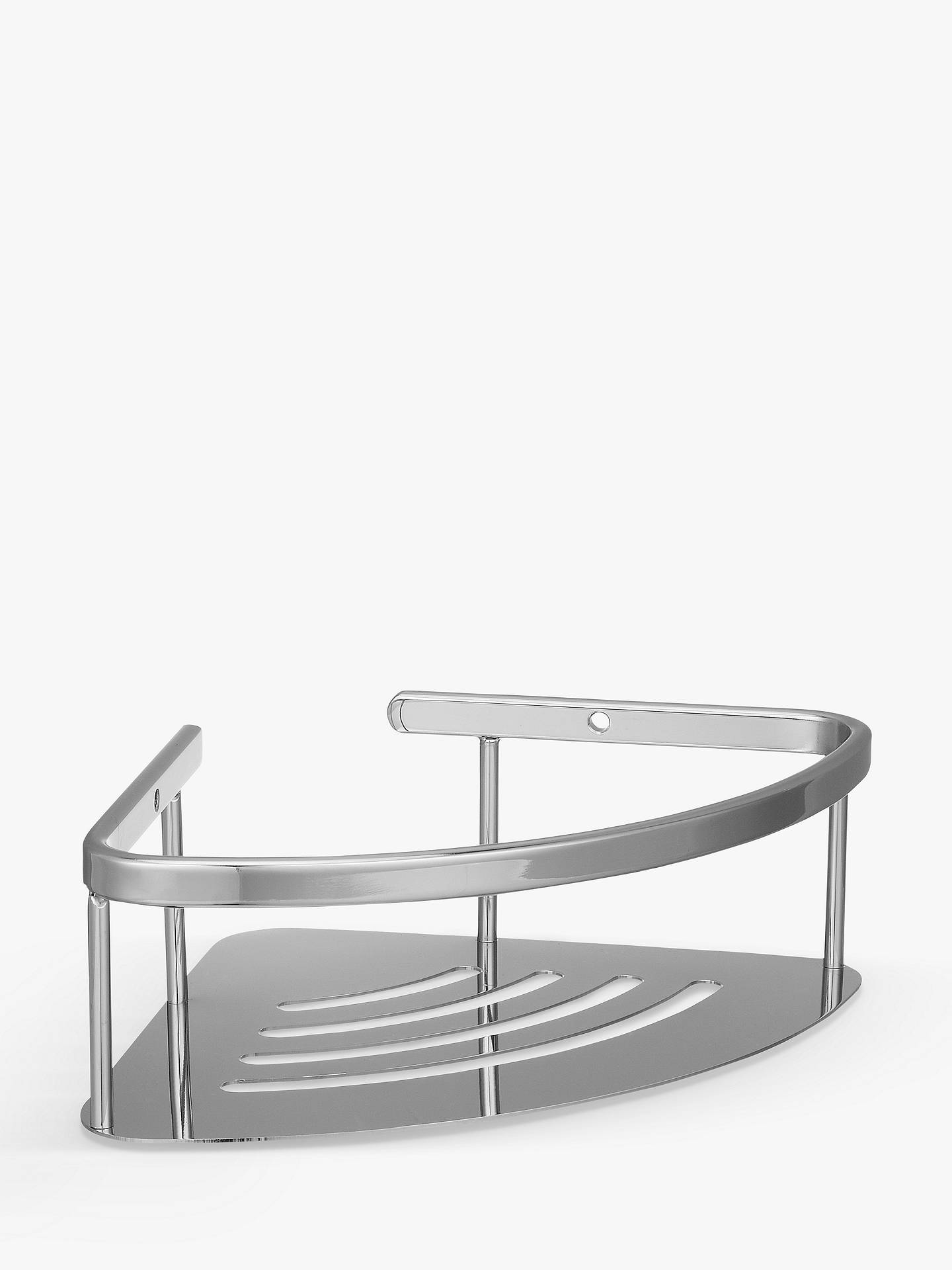 John Lewis & Partners Contemporary Brass and Stainless Steel Deep ...