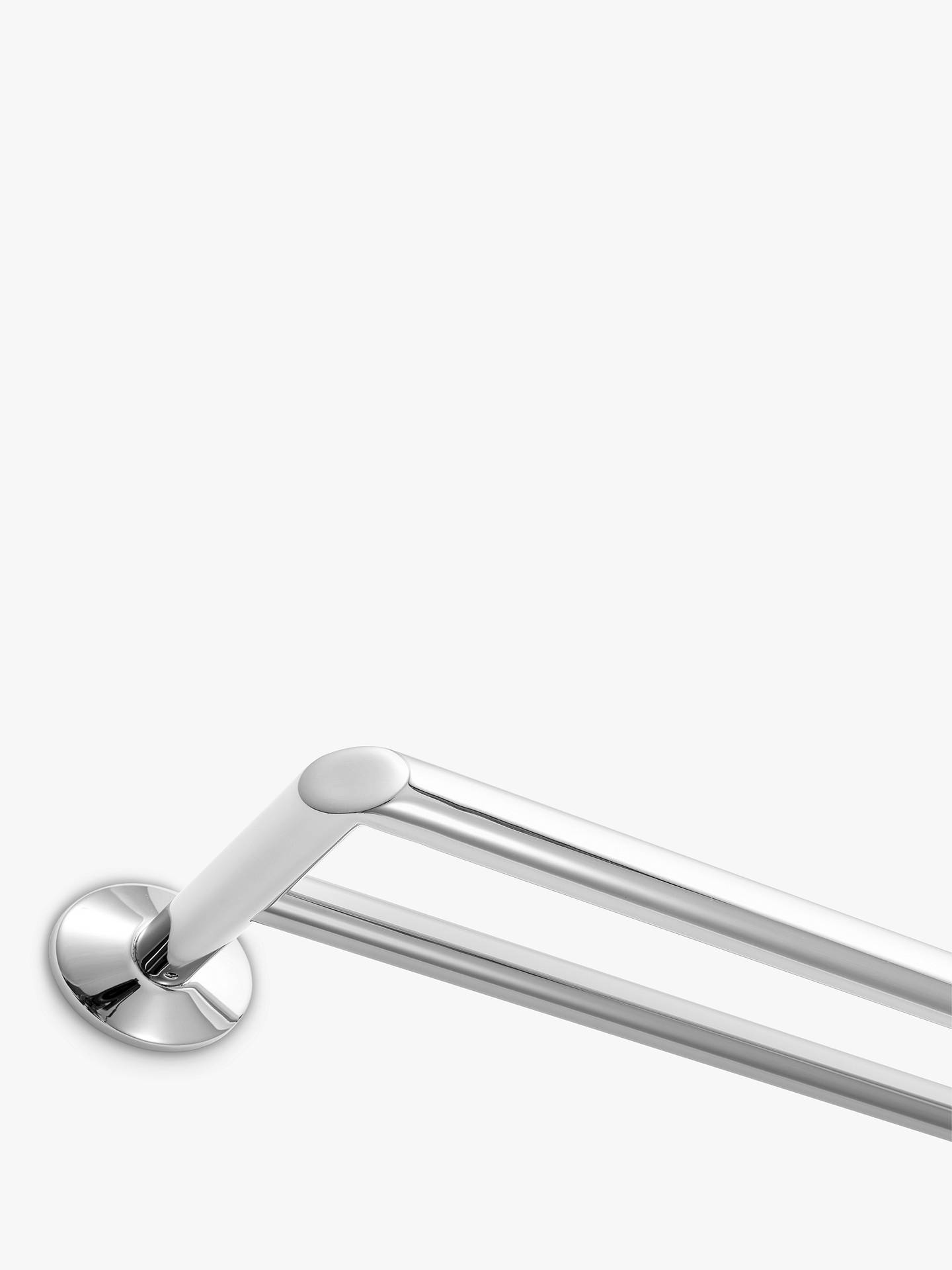 Buy Robert Welch Oblique Double Towel Rail Online at johnlewis.com
