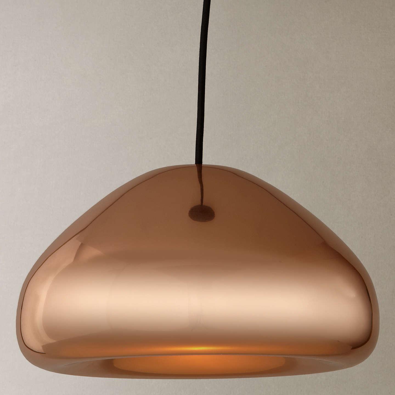 Tom dixon void pendant light copper at john lewis buytom dixon void pendant light copper online at johnlewis aloadofball Choice Image