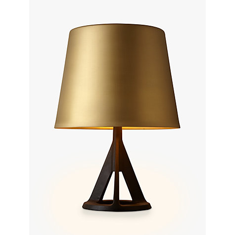 buy tom dixon base table lamp brass john lewis. Black Bedroom Furniture Sets. Home Design Ideas
