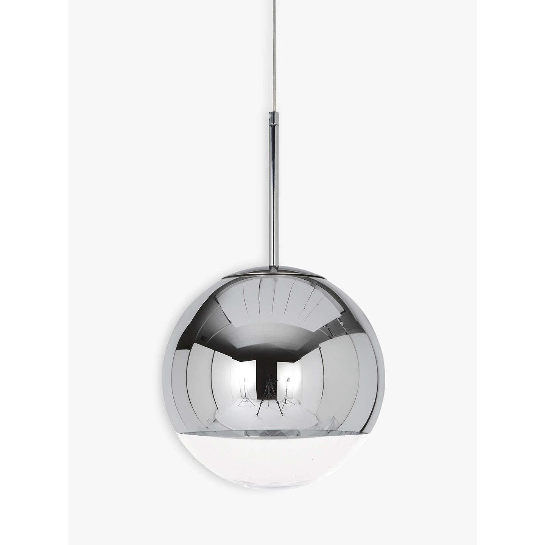 tom dixon mirror ball pendant light large at john lewis. Black Bedroom Furniture Sets. Home Design Ideas