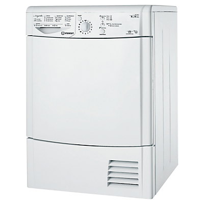 Indesit IDCL85BH Condenser Tumble Dryer 8kg Load B Energy Rating White