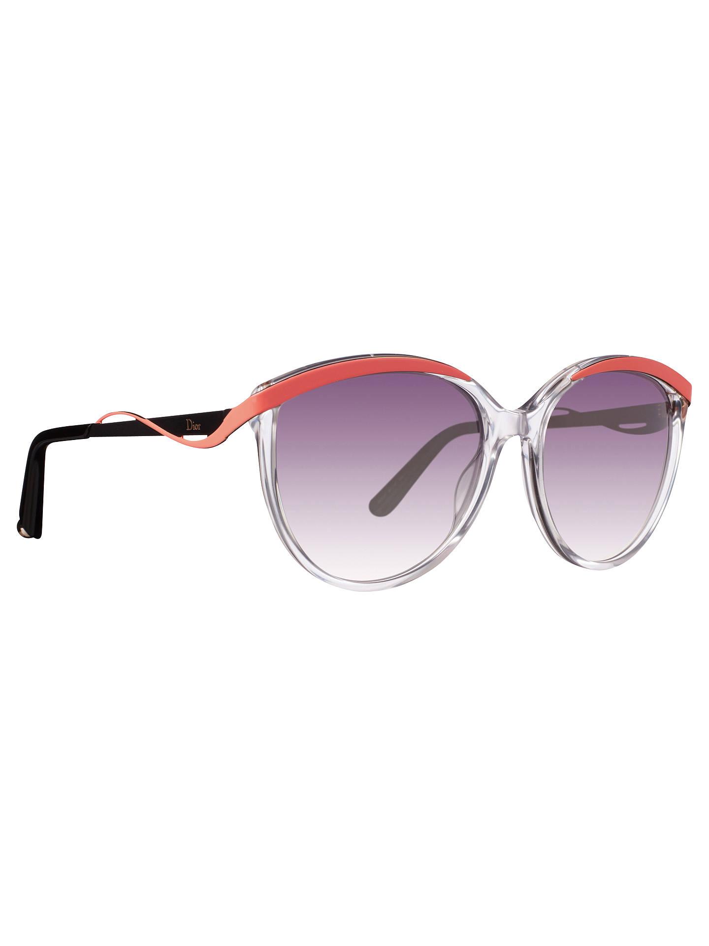 ebfecc2eb41a8 ... Buy Christian Dior Metal Eyes 1 6OCIZ Cat s Eye Plastic And Metal Frame  Sunglasses