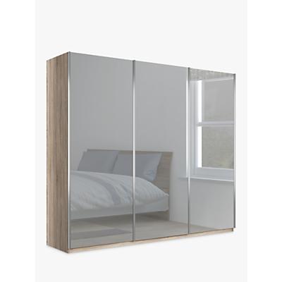 John Lewis & Partners Elstra 250cm Wardrobe with Mirrored Sliding Doors
