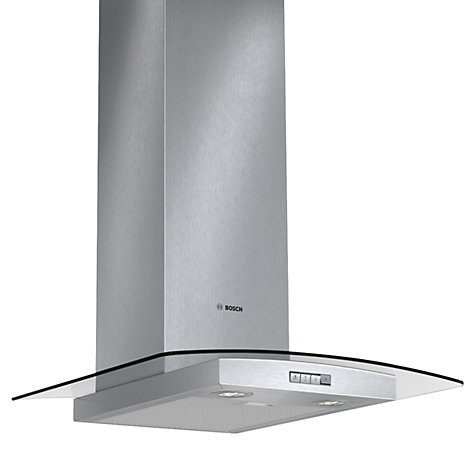 Buy Bosch DWA064W51B Chimney Cooker Hood, Brushed Steel Online at johnlewis.com