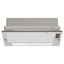 Buy Bosch DHL535BGB Integrated Extractor Hood, Silver Metallic Online at johnlewis.com