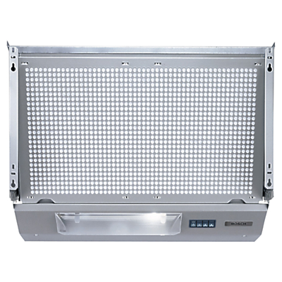 Image of Bosch DHE635BGB Integrated Extractor Hood, Silver Metallic