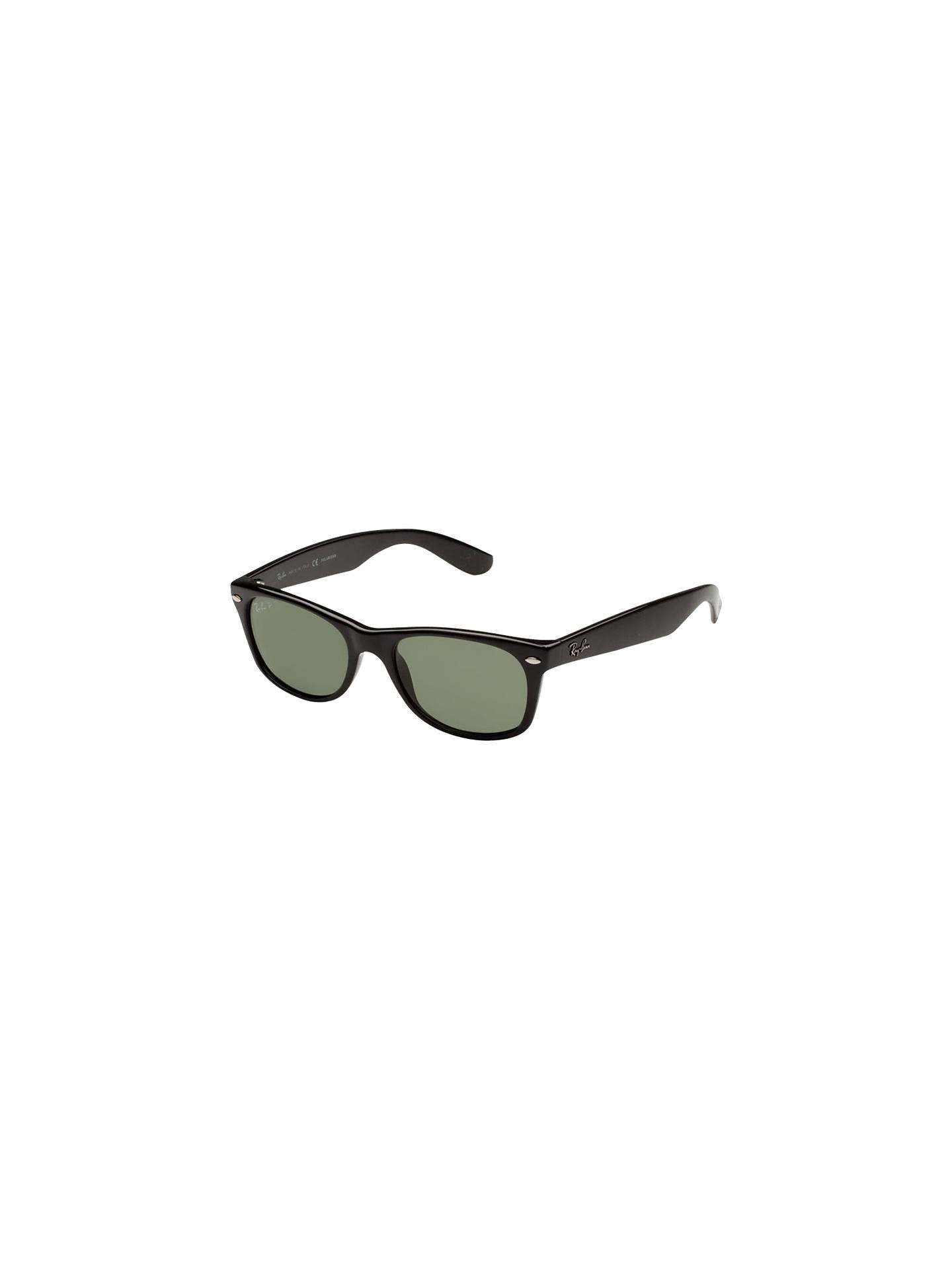 53dae266e Buy Ray-Ban RB2132 Original Wayfarer Polarised Sunglasses, Black Online at  johnlewis.com ...