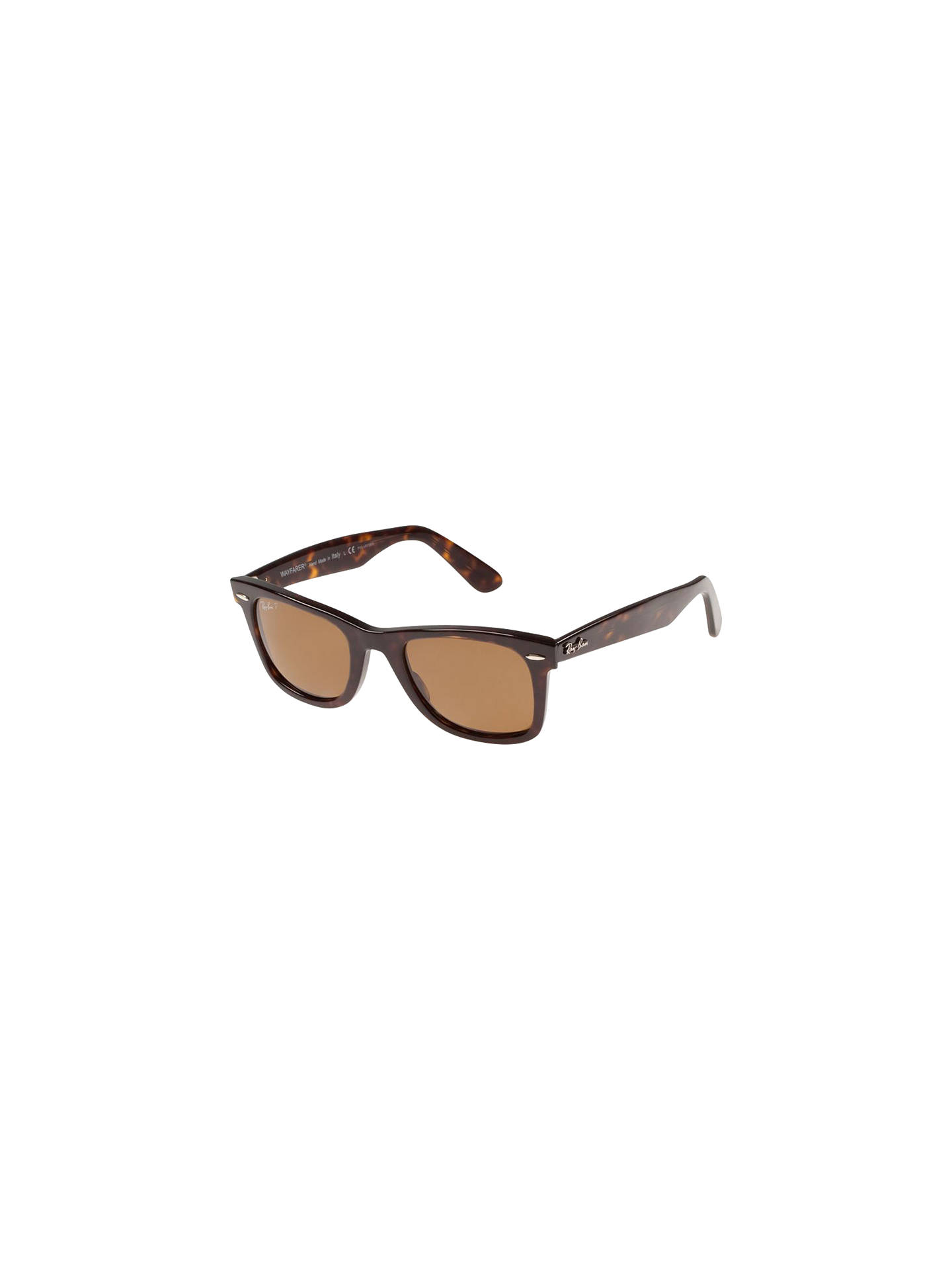 7a151136da Ray-Ban RB2132 Original Wayfarer Polarised Sunglasses at John Lewis ...