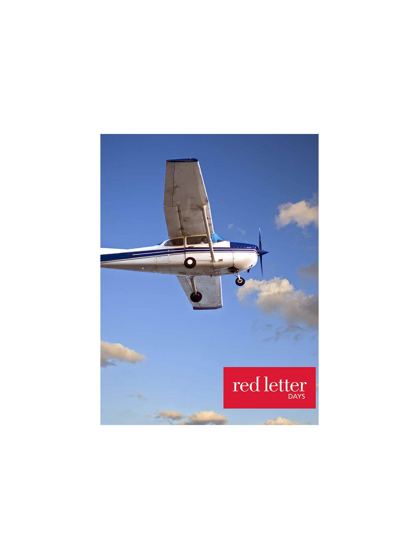 Buy Red Letter Days 30 Minute Aircraft Flight Online at johnlewis.com