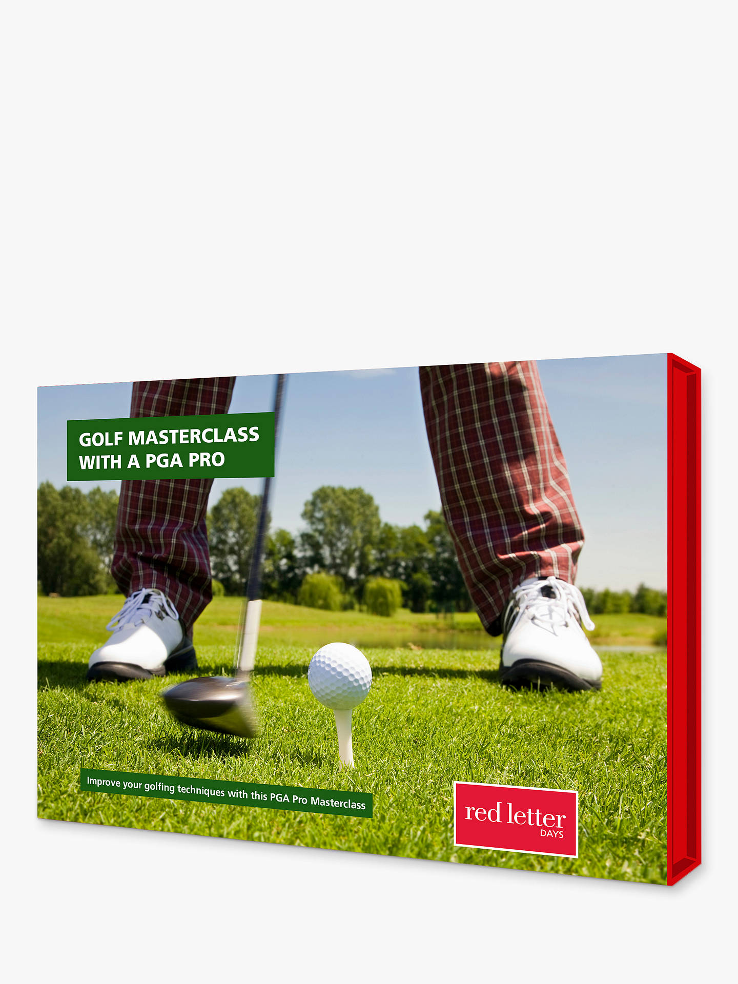 Buy Red Letter Days Intermediate Golf Masterclass Online at johnlewis.com