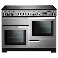 Buy Rangemaster Professional Deluxe 110 Induction Hob Range Cooker Online at johnlewis.com