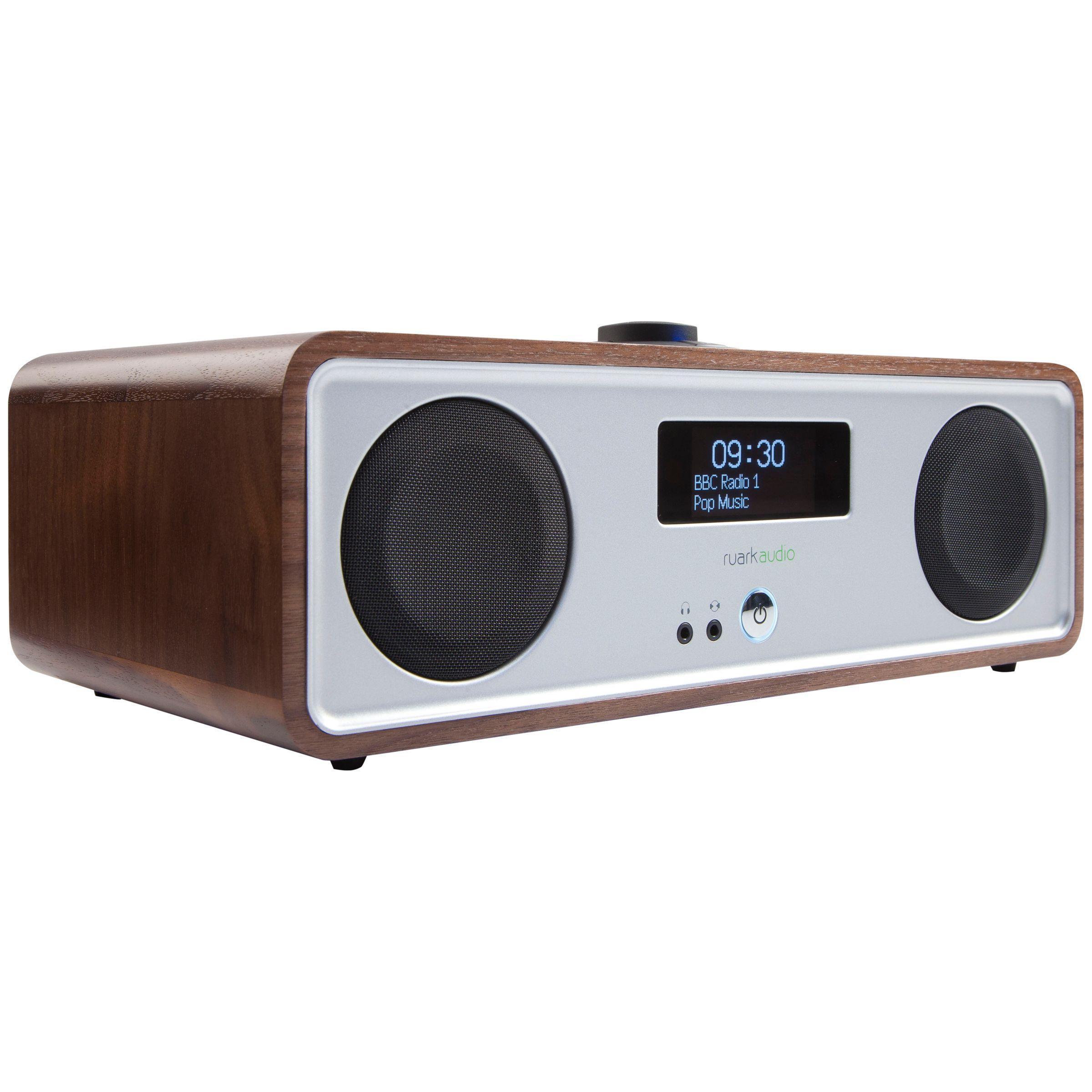 Ruark R2 MK3 DAB/FM/Internet Radio with Wi-Fi and Bluetooth, Walnut
