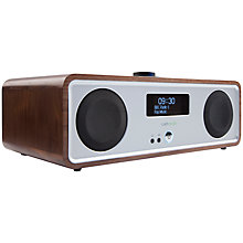 Buy Ruark R2 MK3 DAB/FM/Internet Radio with Wi-Fi and Bluetooth, Walnut, B Grade Online at johnlewis.com