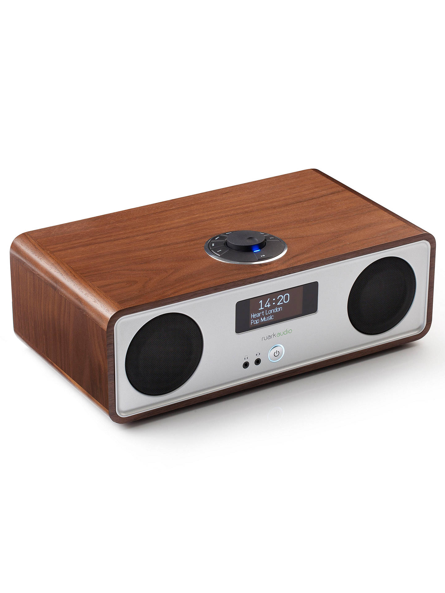 BuyRuark R2 MK3 DAB/FM/Internet Radio with Wi-Fi and Bluetooth, Walnut Online at johnlewis.com