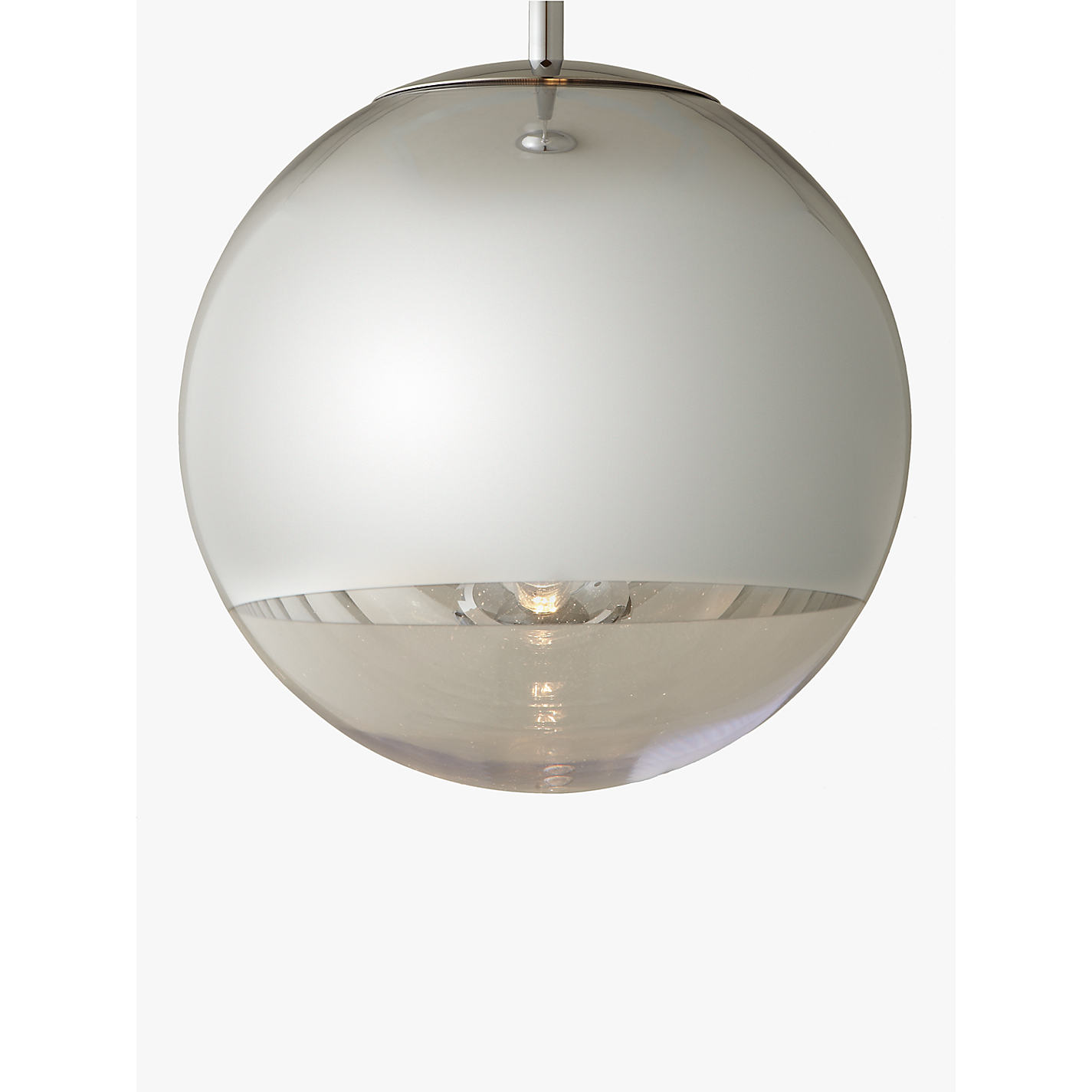 Buy tom dixon mirror ball pendant light john lewis buy tom dixon mirror ball pendant light online at johnlewis mozeypictures Images