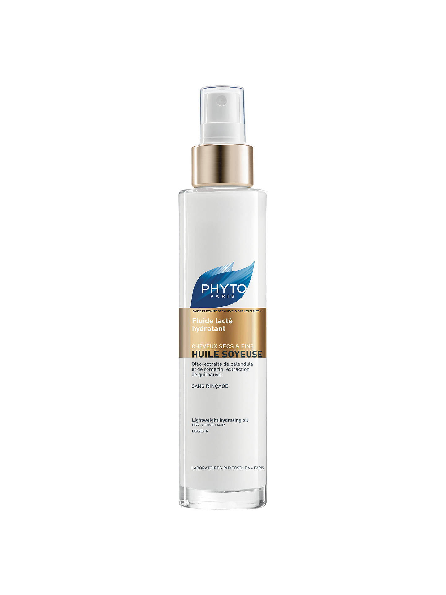 BuyPhyto Huile Soyeuse Lightweight Hydrating Oil, 100ml Online at johnlewis.com
