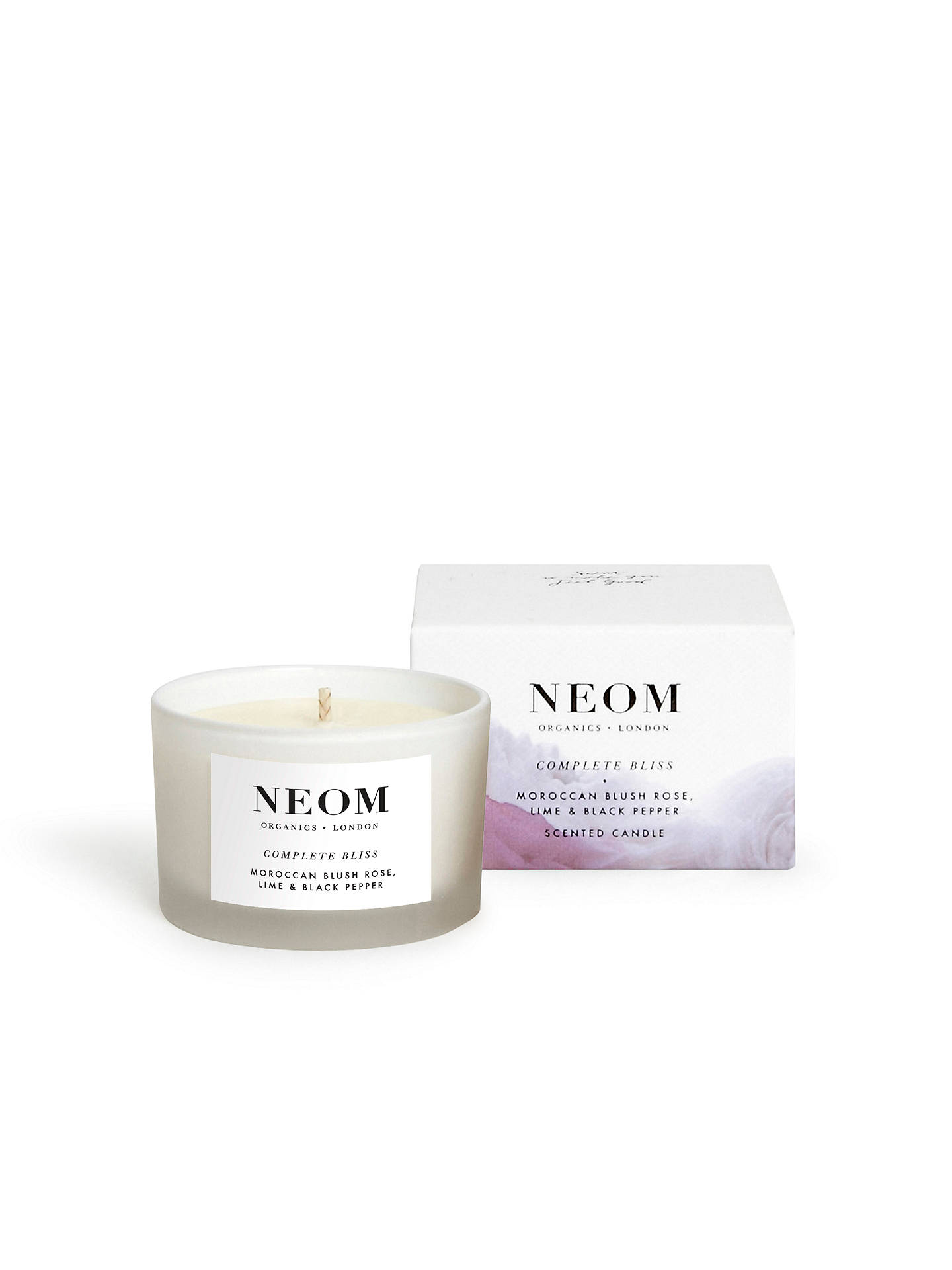 Buy Neom Complete Bliss Travel Candle, 75g Online at johnlewis.com