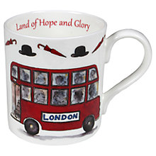 Buy Milly Green Land Of Hope And Glory Mug Online at johnlewis.com