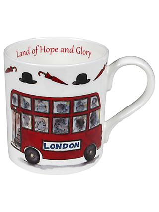 Milly Green Land Of Hope And Glory Mug