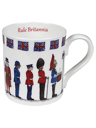 Milly Green Rule Britannia China Mug