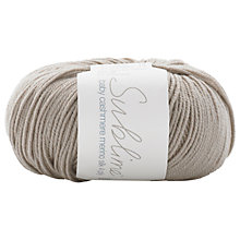Buy Sirdar Sublime Cashmere Baby 4 Ply Yarn, 50g Online at johnlewis.com
