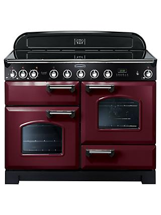 Rangemaster Classic Deluxe 110 Induction Hob Range Cooker