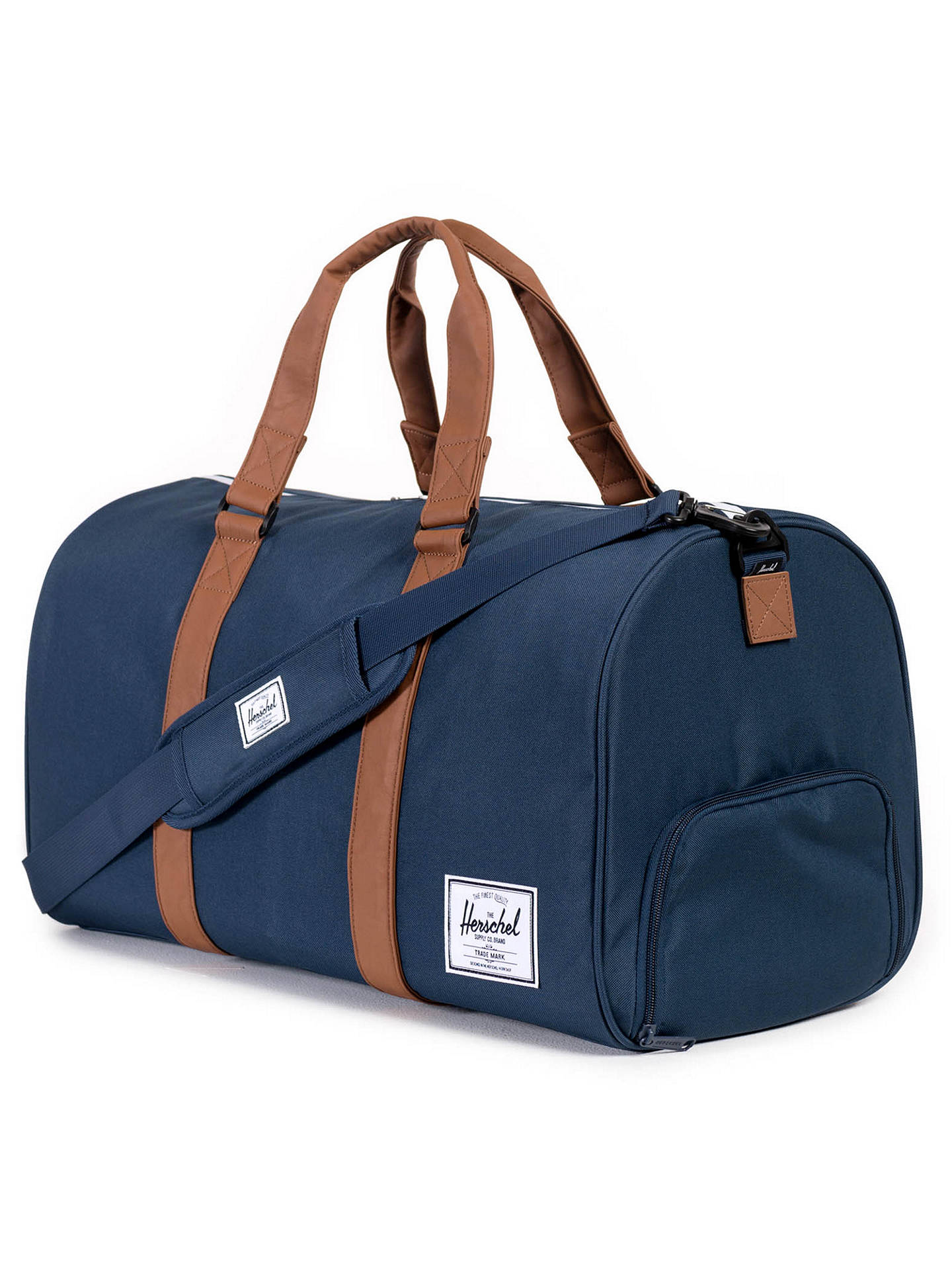 19eac649cb61 Herschel Supply Co. Novel Duffle Holdall at John Lewis   Partners