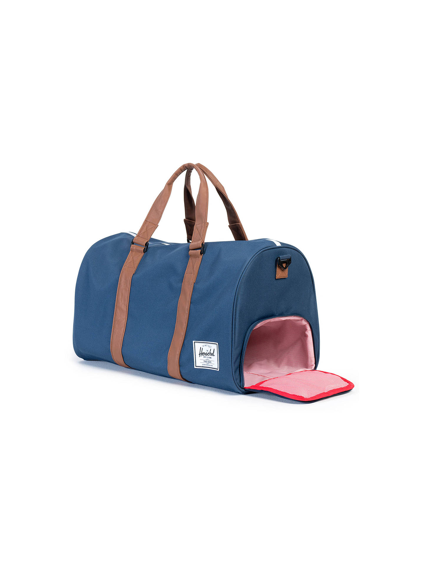 eabdd4b62 Buy Herschel Supply Co. Novel Holdall, Navy/Tan Online at johnlewis.com ...