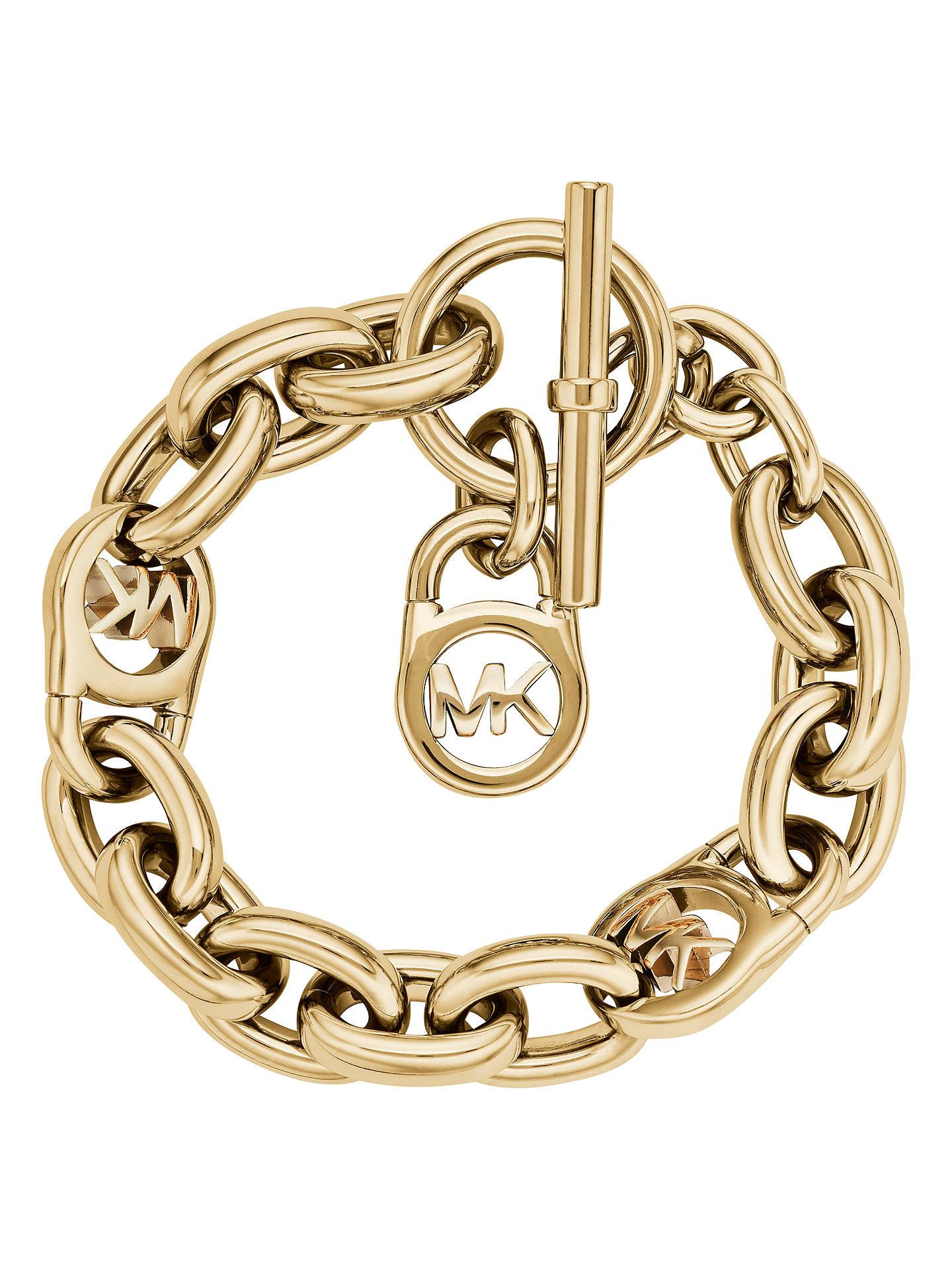 563c7ee9b6ae Michael Kors MK Link Bracelet at John Lewis   Partners