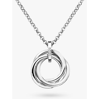 Image of            Hot Diamonds Trio Ring Pendant